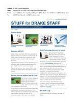 All Staff Council Newsletter